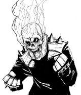 Imprimer le coloriage : Ghost Rider, numéro 2575
