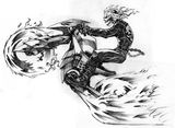Imprimer le coloriage : Ghost Rider, numéro 2577