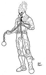 Imprimer le coloriage : Ghost Rider, numéro 2579