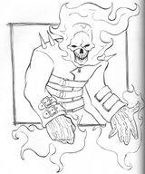 Imprimer le coloriage : Ghost Rider, numéro 2580