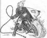 Imprimer le coloriage : Ghost Rider, numéro 2581
