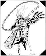 Imprimer le coloriage : Ghost Rider, numéro 2582