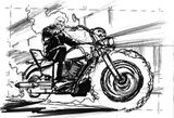 Imprimer le coloriage : Ghost Rider, numéro 2584