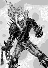 Imprimer le coloriage : Ghost Rider, numéro 27286