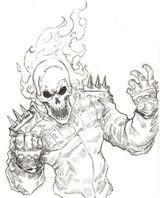 Imprimer le coloriage : Ghost Rider, numéro 2fdcb1fc