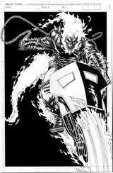 Imprimer le coloriage : Ghost Rider, numéro 4a202e42
