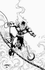 Imprimer le coloriage : Ghost Rider, numéro 646dd5f6