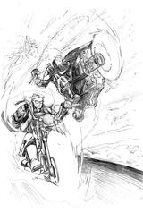Imprimer le coloriage : Ghost Rider, numéro 6597