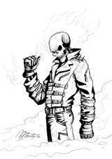 Imprimer le coloriage : Ghost Rider, numéro c2ddacbf