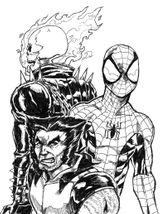 Imprimer le coloriage : Ghost Rider, numéro db30f525