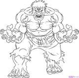 Imprimer le coloriage : Hulk, numéro 167526