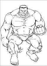 Imprimer le coloriage : Hulk, numéro 17562