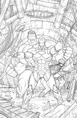Imprimer le coloriage : Hulk, numéro 17571
