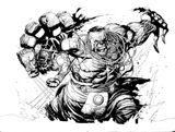 Imprimer le coloriage : Hulk, numéro 17581