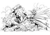 Imprimer le coloriage : Hulk, numéro 17584