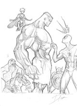 Imprimer le coloriage : Hulk, numéro 18333