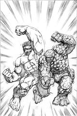 Imprimer le coloriage : Hulk, numéro 401555