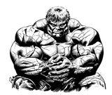 Imprimer le coloriage : Hulk, numéro 613365