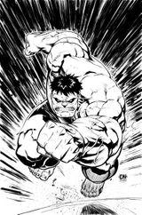 Imprimer le coloriage : Hulk, numéro 6622