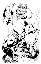 Imprimer le coloriage : Hulk, numéro 77630eec