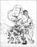 Imprimer le coloriage : Hulk, numéro ba83970a
