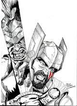 Imprimer le coloriage : Hulk, numéro d80afe4f