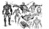 Imprimer le coloriage : Iron Man, numéro 128022