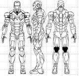 Imprimer le coloriage : Iron Man, numéro 16498