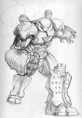Imprimer le coloriage : Iron Man, numéro 253539