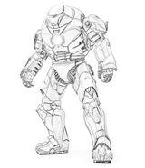 Imprimer le coloriage : Iron Man, numéro 412167