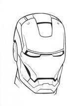 Imprimer le coloriage : Iron Man, numéro 4592