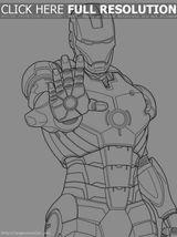 Imprimer le coloriage : Iron Man, numéro 625033