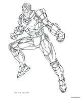 Imprimer le coloriage : Iron Man, numéro 758c00c9