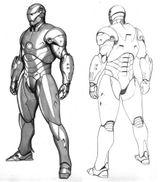 Imprimer le coloriage : Iron Man, numéro 8604