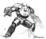Imprimer le coloriage : Iron Man, numéro 8617