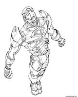 Imprimer le coloriage : Iron Man, numéro a805217f