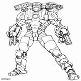 Imprimer le coloriage : Iron Man, numéro afac5997