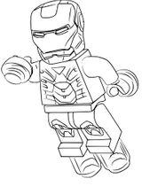 Imprimer le coloriage : Iron Man, numéro b20a4782