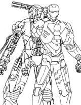 Imprimer le coloriage : Iron Man, numéro df742e70
