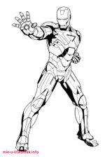 Imprimer le coloriage : Iron Man, numéro fa6d26cd