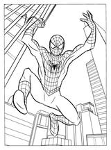 Imprimer le coloriage : Spiderman, numéro 128037