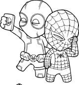 Imprimer le coloriage : Spiderman, numéro 164edceb