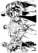 Imprimer le coloriage : Spiderman, numéro 22103