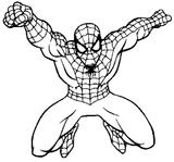 Imprimer le coloriage : Spiderman, numéro 426435