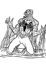 Imprimer le coloriage : Spiderman, numéro 4540