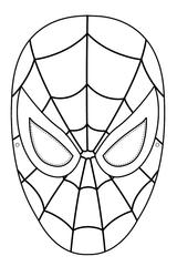 Imprimer le coloriage : Spiderman, numéro 4570