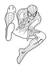 Imprimer le coloriage : Spiderman, numéro 834765f4