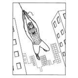 Imprimer le coloriage : Spiderman, numéro 8592