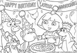 Imprimer le coloriage : Dora, numéro 113552
