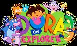 Imprimer le dessin en couleurs : Dora, numéro 157233